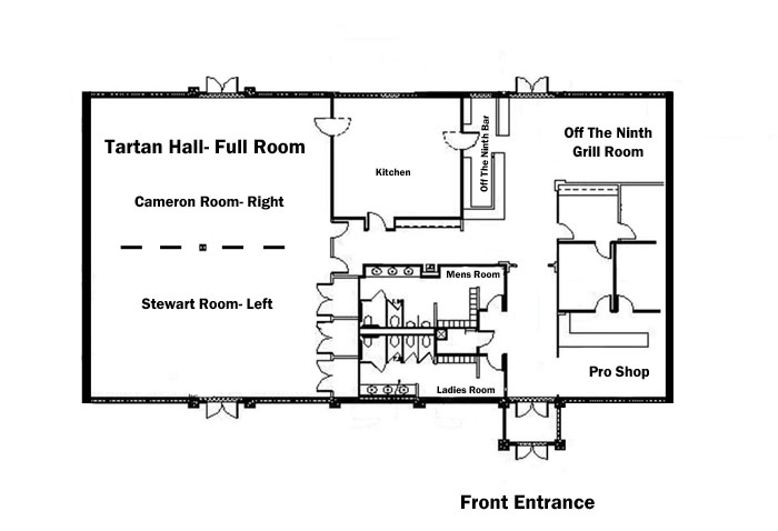 Clubhouse floor plan cranberry township official website for Clubhouse floor plans