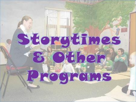 Storytimes link button