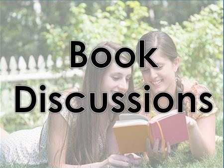 Book Discussions link button