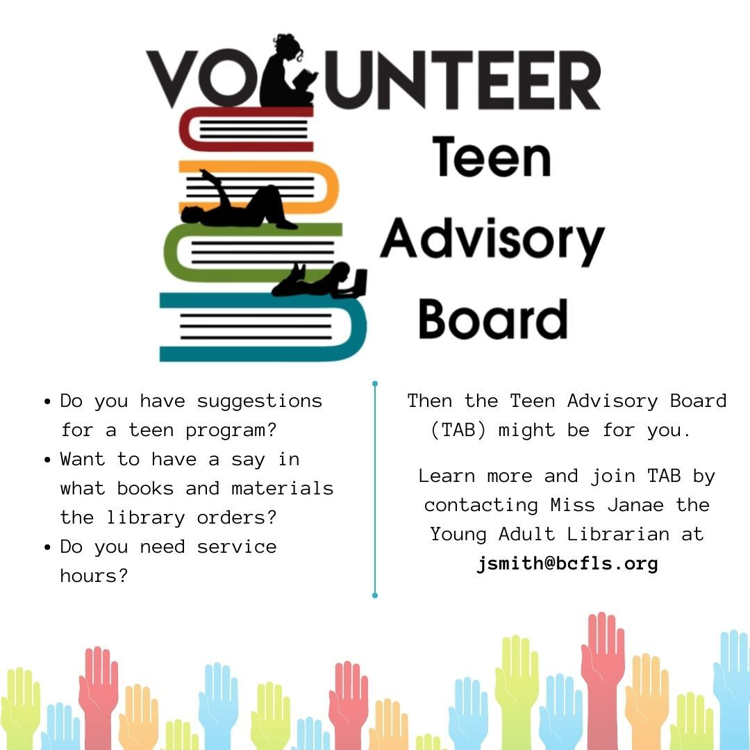 Teen Advisory Board block