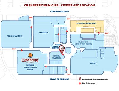 Municipal Center AED Location